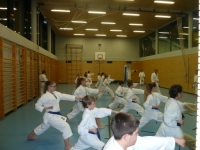 Trainingspartner aus Kloten beim Shotokan