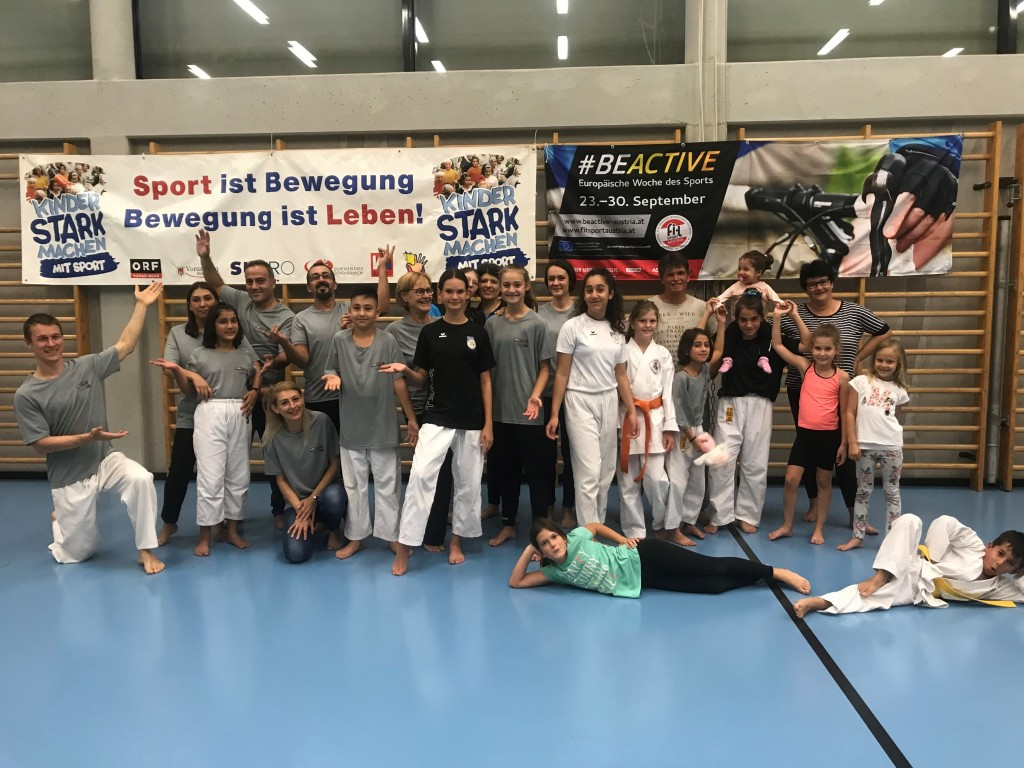#BeActive Karatesportnacht in Lustenau